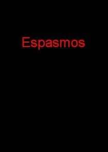 Espasmos - Poster / Capa / Cartaz - Oficial 1