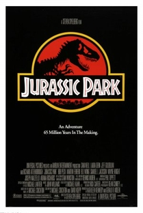 Jurassic Park - O Parque dos Dinossauros - Poster / Capa / Cartaz - Oficial 1