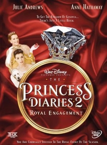 O Diário da Princesa 2: Casamento Real - Poster / Capa / Cartaz - Oficial 2