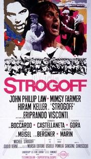 Miguel Strogoff, O Mensageiro do Czar - Poster / Capa / Cartaz - Oficial 1