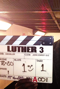 Luther (3ª Temporada) - Poster / Capa / Cartaz - Oficial 3