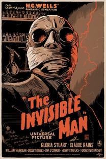 O Homem Invisível - Poster / Capa / Cartaz - Oficial 1