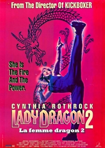 Lady Dragon 2 - Poster / Capa / Cartaz - Oficial 1