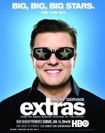 Extras (2ª Temporada) - Poster / Capa / Cartaz - Oficial 1