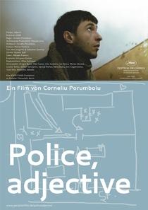 Polícia, Adjetivo - Poster / Capa / Cartaz - Oficial 2