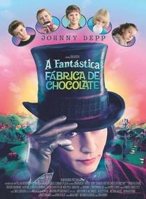A Fantástica Fábrica de Chocolate - Poster / Capa / Cartaz - Oficial 1