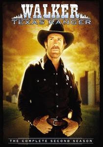 Walker, Texas Ranger (2ª Temporada) - Poster / Capa / Cartaz - Oficial 1