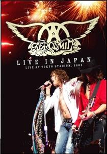 Aerosmith - Live in Japan - Poster / Capa / Cartaz - Oficial 1