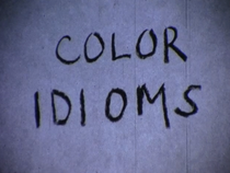 Color Idioms - Poster / Capa / Cartaz - Oficial 1