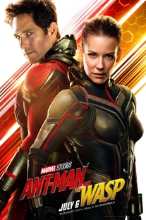 Homem-Formiga e a Vespa - Poster / Capa / Cartaz - Oficial 12