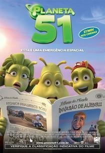 Planeta 51 - Poster / Capa / Cartaz - Oficial 3