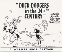 Duck Dodgers in the 24½th Century - Poster / Capa / Cartaz - Oficial 1