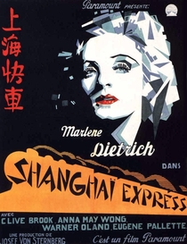 O Expresso de Xangai - Poster / Capa / Cartaz - Oficial 1