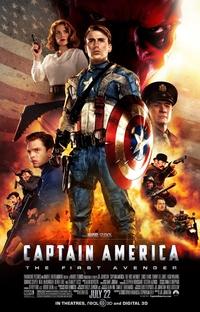 Capitão América: O Primeiro Vingador - Poster / Capa / Cartaz - Oficial 1