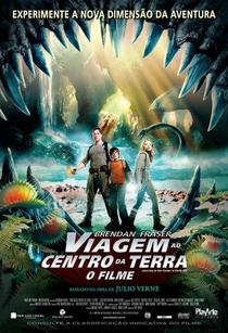 Viagem ao Centro da Terra - O Filme - Poster / Capa / Cartaz - Oficial 2