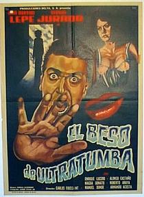 El beso de ultratumba - Poster / Capa / Cartaz - Oficial 1