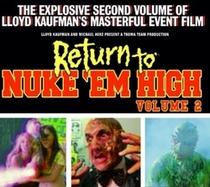 Return to Nuke 'Em High Aka Vol 2 - Poster / Capa / Cartaz - Oficial 2