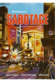 Sabotagem - Poster / Capa / Cartaz - Oficial 4