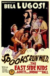 Spooks Run Wild  - Poster / Capa / Cartaz - Oficial 1