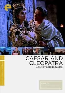César e Cleópatra - Poster / Capa / Cartaz - Oficial 1