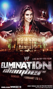 WWE Elimination Chamber - 2014 - Poster / Capa / Cartaz - Oficial 1