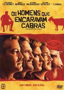 Os Homens Que Encaravam Cabras - Poster / Capa / Cartaz - Oficial 1