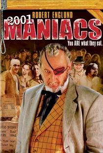 2001 Maníacos - Poster / Capa / Cartaz - Oficial 1