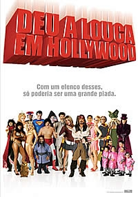 Deu a Louca em Hollywood - Poster / Capa / Cartaz - Oficial 4