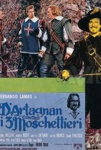 D'Artagnan Contra os Três Mosqueteiros - Poster / Capa / Cartaz - Oficial 1