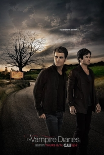 The Vampire Diaries (7ª Temporada) - Poster / Capa / Cartaz - Oficial 1