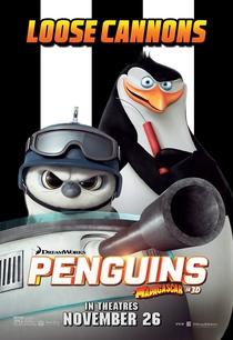 Os Pinguins de Madagascar - Poster / Capa / Cartaz - Oficial 7