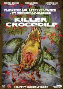 Crocodilo Assassino - Poster / Capa / Cartaz - Oficial 1