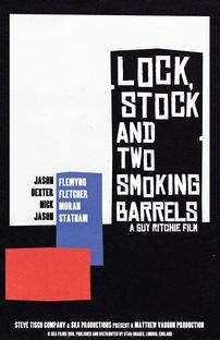 Jogos, Trapaças e Dois Canos Fumegantes - Poster / Capa / Cartaz - Oficial 4
