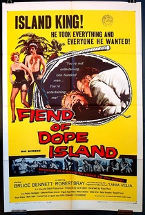 The Fiend of Dope Island - Poster / Capa / Cartaz - Oficial 2