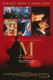 M. Butterfly - Poster / Capa / Cartaz - Oficial 1