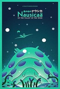 Nausicaä do Vale do Vento - Poster / Capa / Cartaz - Oficial 3