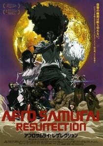 Afro Samurai: Resurrection - Poster / Capa / Cartaz - Oficial 1