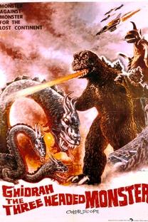 Ghidrah, o Monstro Tricéfalo - Poster / Capa / Cartaz - Oficial 3