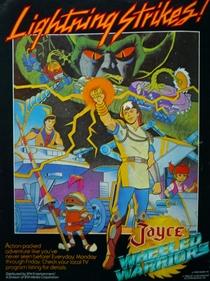 Jayce e os Guerreiros Relâmpago - Poster / Capa / Cartaz - Oficial 1