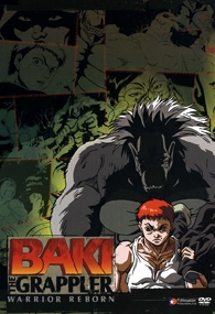 Baki the Grappler - Poster / Capa / Cartaz - Oficial 1