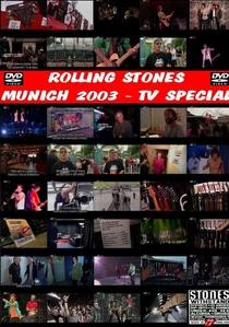 Rolling Stones - Munich TV Special 2003 - Poster / Capa / Cartaz - Oficial 1