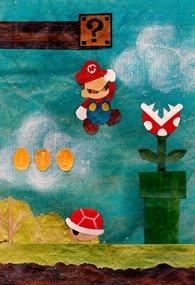 Mario On Paper - Poster / Capa / Cartaz - Oficial 1