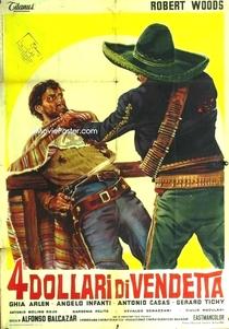 4 Dólares de Vingança para Ringo - Poster / Capa / Cartaz - Oficial 2