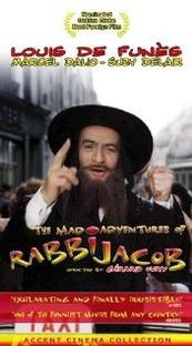 As Loucas Aventuras do Rabbi Jacob - Poster / Capa / Cartaz - Oficial 1