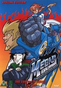 Megas XLR (1ª Temporada) - Poster / Capa / Cartaz - Oficial 1