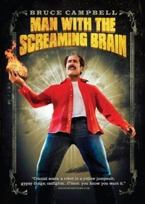 Man With the Screaming Brain - Poster / Capa / Cartaz - Oficial 3
