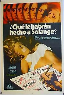 O Quê Vocês Fizeram com Solange? - Poster / Capa / Cartaz - Oficial 4