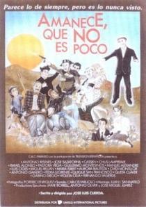 Amanece, que no es poco - Poster / Capa / Cartaz - Oficial 1