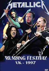 Metallica - Reading Festiva UK 1997 - Poster / Capa / Cartaz - Oficial 1