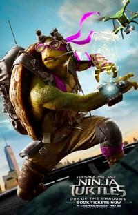 As Tartarugas Ninja: Fora das Sombras - Poster / Capa / Cartaz - Oficial 14